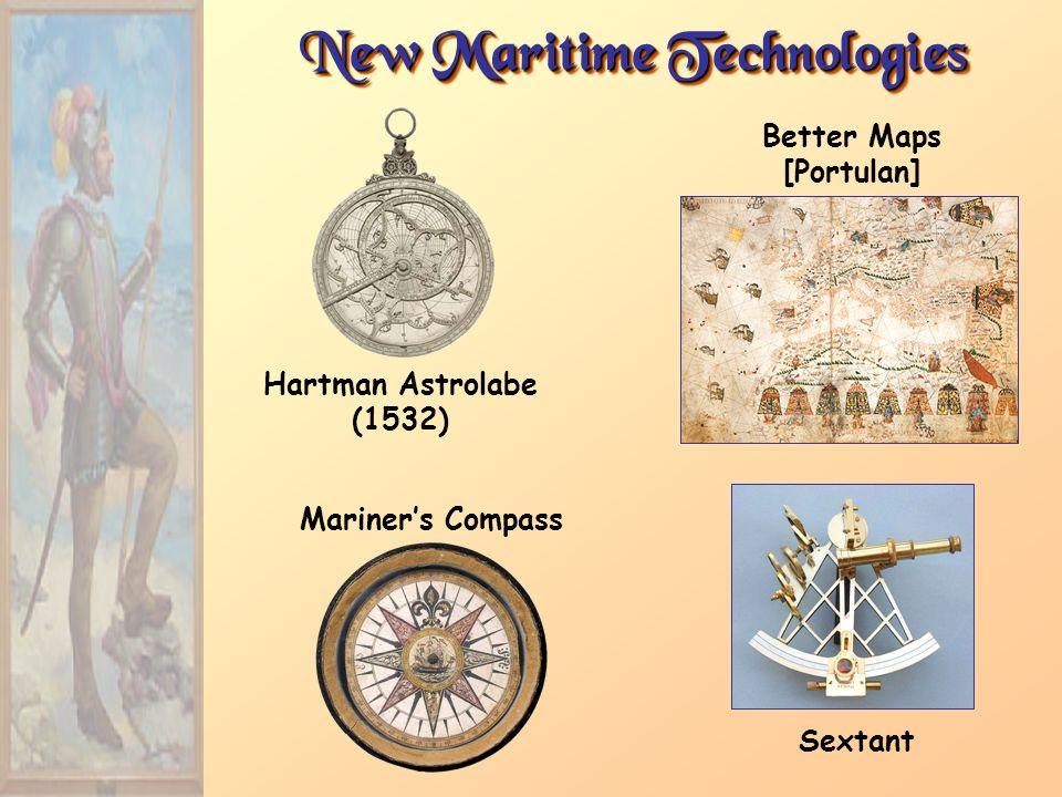 New Maritime Technologies Better Maps [Portulan]